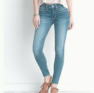 American Eagle Super Stretch Super Low Jegging